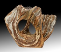 "SCENT OF WET SOIL (Olor a tierra mojada)  by Juan Ramon Gimeno - (2013) 23. 5/8 "" x 17. 3/4""  x 18 .1/2"" Ceramic sculpture"