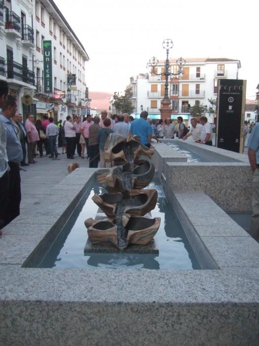 GUADALEVIN by Juan Ramon Gimeno - fountain  Ceramic Sculpture (2011)