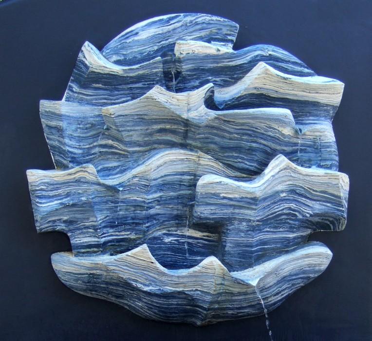 Ocean-_mural fountain_Ø4 feet